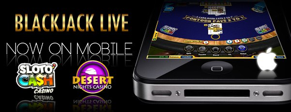 Blackjack Live on SlotOCash and Uptown Aces Casino