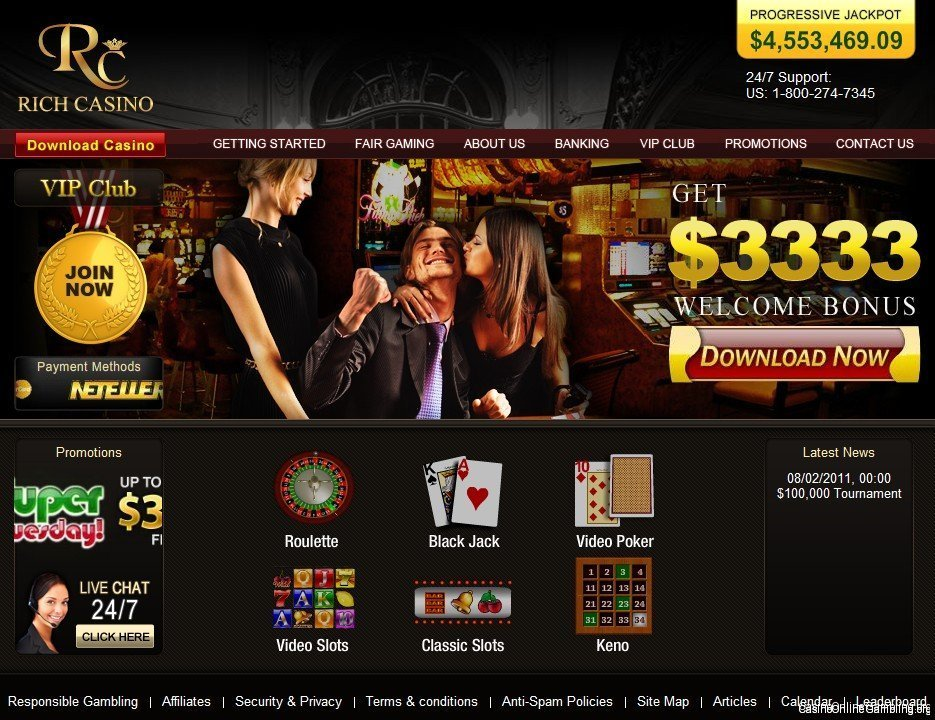 start online casino ring casino
